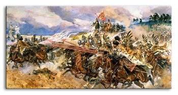Obraz - Malarstwo polskie 90x45 cm