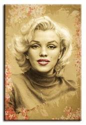 "Obraz ""Marilyn Monroe"" reprodukcja 60x90 cm"