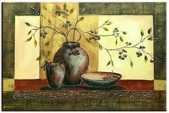 Obraz - Martwa natura nowoczesna - olejny, ręcznie malowany 76x107cm