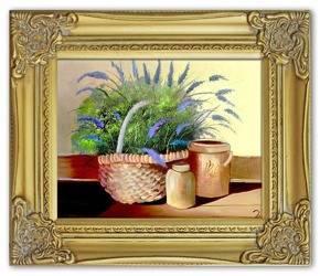 Obraz - Martwa natura tradycyjna - olejny, ręcznie malowany 27x32cm