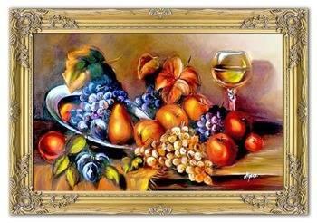 Obraz - Martwa natura tradycyjna - olejny, ręcznie malowany 75x105cm