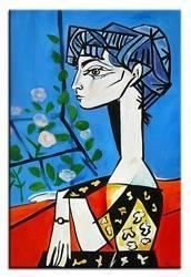 Obraz - Pablo Picasso, Salvador Dali i inni - olejny, ręcznie malowany 60x90cm