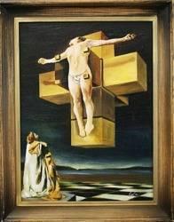 """Obraz """"Pablo Picasso, Salvador Dali i inni"""" ręcznie malowany 46x56cm"""
