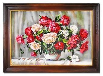 """Obraz """"Roze"""" ręcznie malowany 75x105cm"""