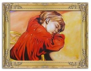 Obraz - Stanisław Wyspiański - olejny, ręcznie malowany 63x84cm