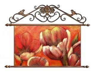 """Obraz """"Tulipany"""" ręcznie malowany 72x75cm"""