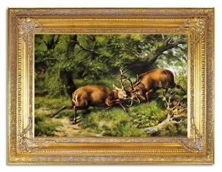 Obraz - Zwierzęta - olejny, ręcznie malowany 90x120cm