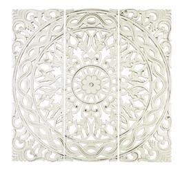 Panel Ażurowy Dekoracja Ścienna Kwadratowy 90x90cm