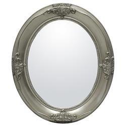 Stylowa Rama Dekoracyjna Lustro Srebrny 66x56x4 cm