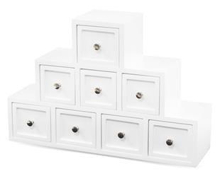 Szkatułka Na Biżuterię Z Szufladkami 24,5x36,5x11