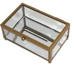 Szkatułka szklana  6x9x14
