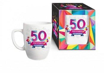 Urodzinowa geometria kubek 50 lat
