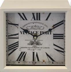"""Zegar Rzymski  Stojący """"Vintage Port 20x20cm"""