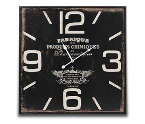 Zegar Wiszący Retro Kwadrat 59,5x59,5cm