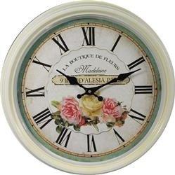 Zegar ścienny Motyw Róże 39x39cm