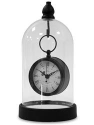 Zegar stojący ozdobny stylowy w słoiku