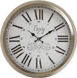 Zegar wiszący ozdobny stylowy prosty klasyczny