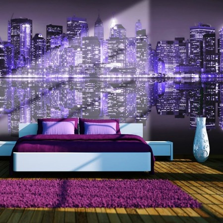 Fototapeta - American violet