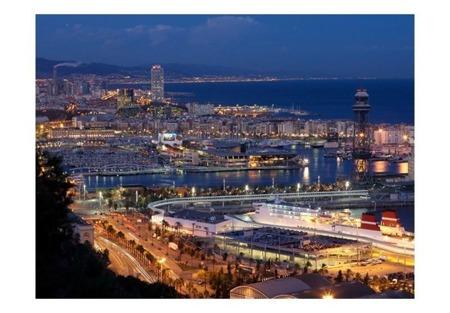Fototapeta - Barcelona: noc
