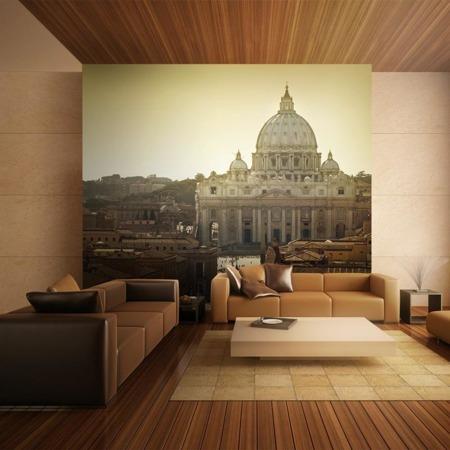 Fototapeta - Bazylika św. Piotra na Watykanie