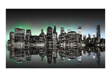 Fototapeta - Black skyscrapers