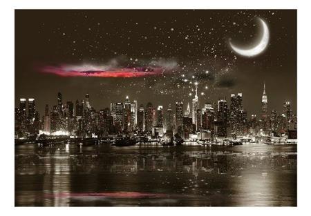 Fototapeta - Gwiezdna noc nad NY