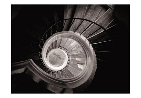 Fototapeta - Kręte schody w kaplicy, Kutná Hora Czechy