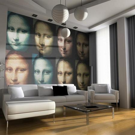 Fototapeta - Mona Lisa (pop art)