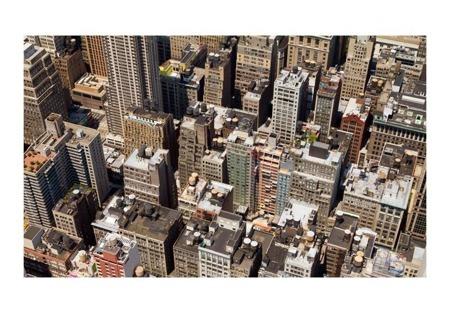 Fototapeta - New York rooftops