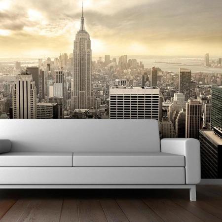Fototapeta - Nowy Jork - Manhattan o świcie