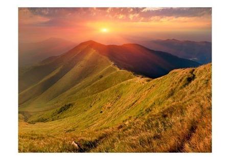 Fototapeta - Piękny jesienny krajobraz, Karpaty