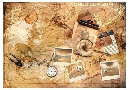 Fototapeta - Piłkarskie wspomnienia