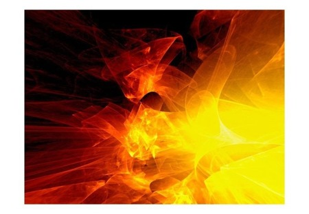 Fototapeta - abstrakcja - ogień