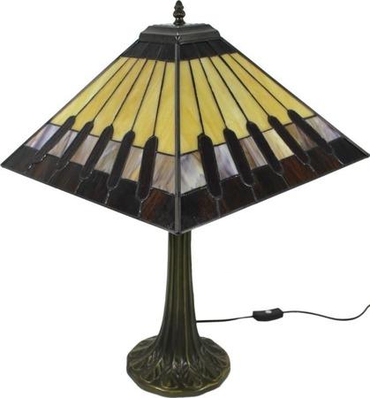 Lampa Witrażowa -Prom
