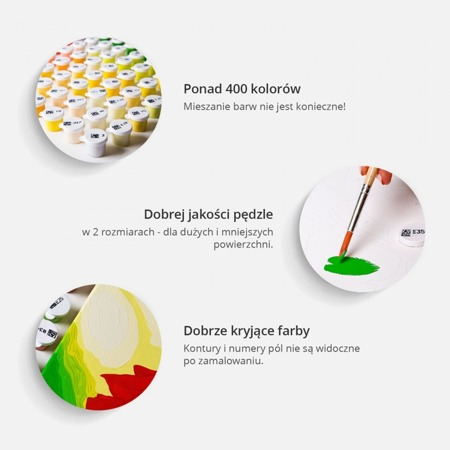 Obraz do samodzielnego malowania - Kolorowe przyprawy