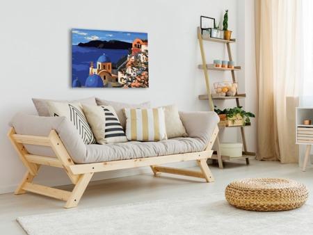 Obraz do samodzielnego malowania - Santorini