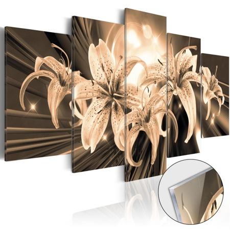 Obraz na szkle akrylowym - Bukiet wspomnień [Glass]