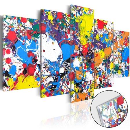 Obraz na szkle akrylowym - Kolorowa wyobraźnia [Glass]