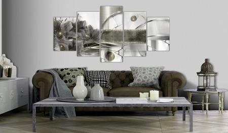 Obraz na szkle akrylowym - Kwiaty kosmosu [Glass]