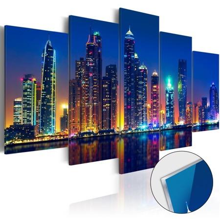 Obraz na szkle akrylowym - Noce w Dubaju [Glass]