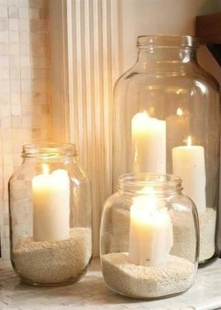 Świeca Classic Candles 7x18  cm